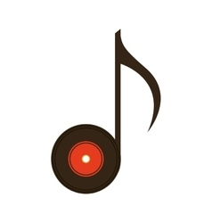 long play retro music vector image vector image