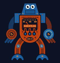 Muscle robot vector