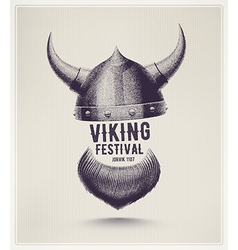 Viking Festival vector image vector image