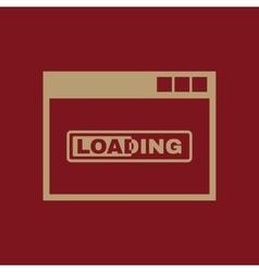 Loading icon design loading symbol web vector