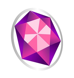 Icon jewel vector