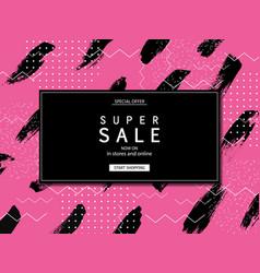 Super sale banner eps 10 vector
