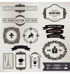 Design elements part 2 vector