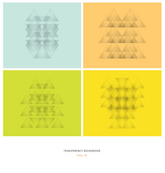 Abstract gray transparency geometry vector