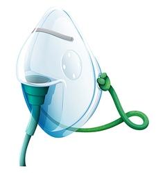 An oxygen mask vector