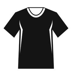Men tennis t-shirt icon simple style vector