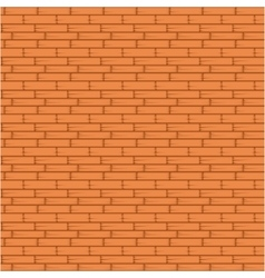 Orange brick wall seamless vector