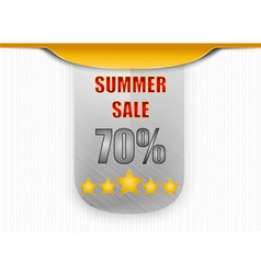 Sale promotion label vector