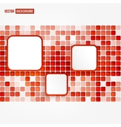Abstract geometric shape vector