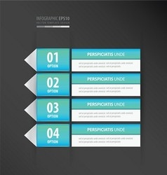 Label design neon blue vector