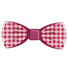 Hipster bow tie graphic vector