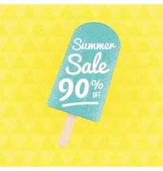 Summer sale 70 per cent off vector