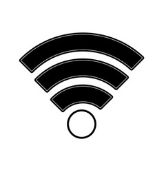 wireless signal vector image vector image