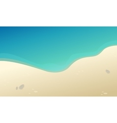 Beautiful landscape beach collection stock vector