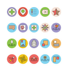 Design and development icons 5 vector