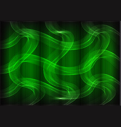Many fine lines on a green background vector