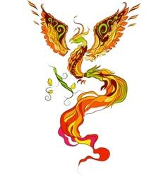 Phoenix illustration vector