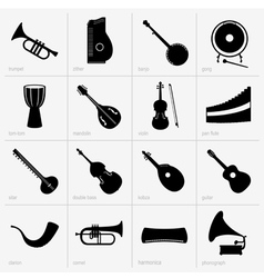 Musical instruments part 2 vector