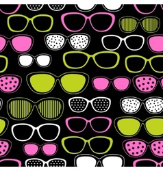 Sunglasses seamless pattern vector