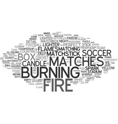 Match word cloud concept vector