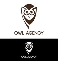 Owl agency vector image