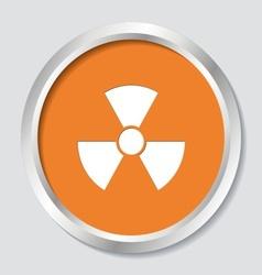 Radioactivity symbol vector