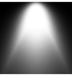 Shiny Starburst of blue and white on black vector image
