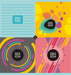 Web banners backgrounds vector