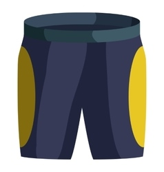 Shorts for cyclist icon isometric style vector