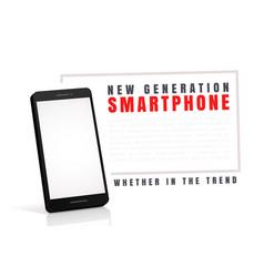A smartphone vector