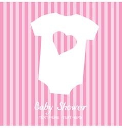 Baby clothes vector