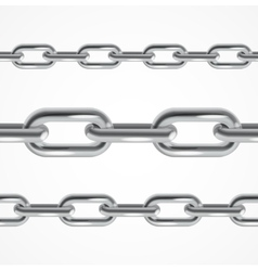 Chain Metal vector image