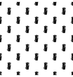 Mug for coffee pattern simple style vector
