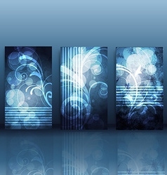 shiny card background vector image