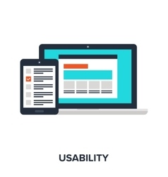 Usability evaluation concept vector