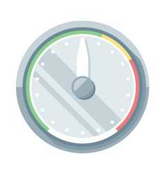 Speedometer flat icon vector