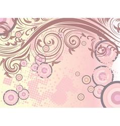 Decorative floral background3 vector