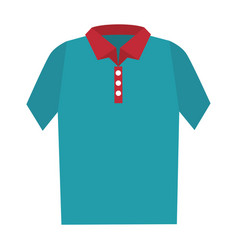 t-shirt male isolated icon vector image vector image