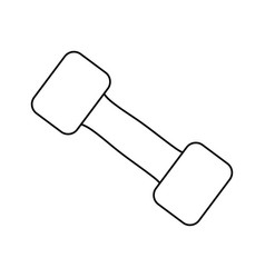 Dumbbell icon image vector