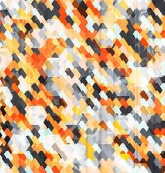 Abstract orange cell seamless vector