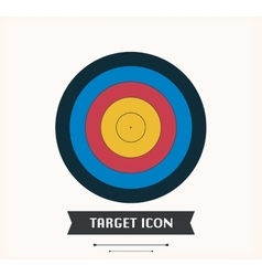 Target -icon - stock vector