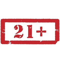 21 restriction sign vector