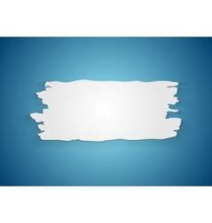 Abstract ragged paper background vector image vector image