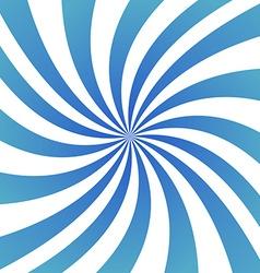 Light blue spiral design background vector