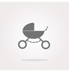 Stroller icon in mode web icon web icon vector