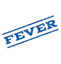 Fever watermark stamp vector