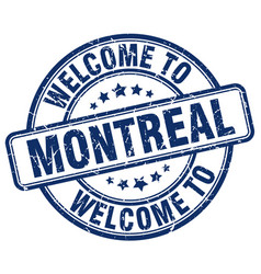 Welcome to montreal vector