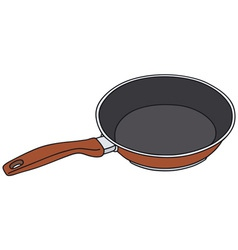 Red pan vector