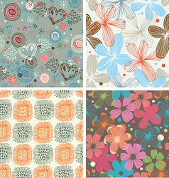 Abstract pattern background vector image vector image