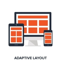 Adaptive layout concept vector